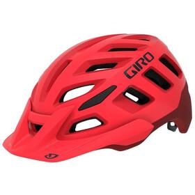 Giro Radix Hjelm, matte bright red/dark red